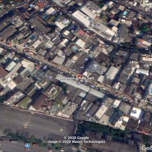 【旅】Google マップで自分が最初に行った海外単独旅行を振り返る。