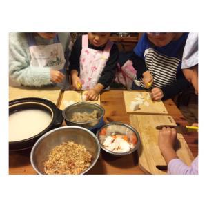 10月子供料理教室風景