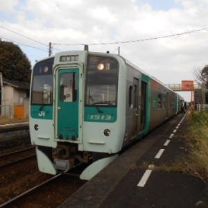 プレゼントしてもらった乗車券・特急券で旅に出る・・9(徳島線で阿波池田へ)
