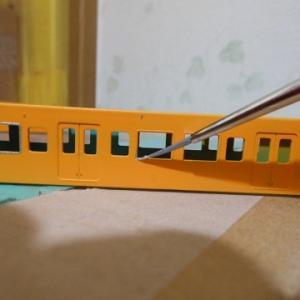 本州最果ての元荷物電車製作記(番外編2.集めて楽しい105系・完結)
