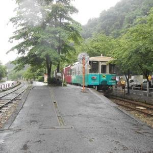 岐阜県内の新規乗車路線を求めて(最終回・長良川鉄道で来た道を戻る)
