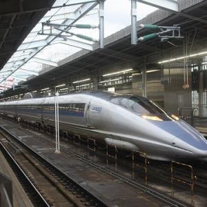 2019.7博多・山陽旅(2.山陽新幹線のぞみ号に乗車する)