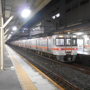 banban(父)旅に出る・・(夏の陣・2・・大垣駅でながら号を待つ)