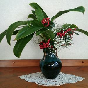クリスマス花を解体☆
