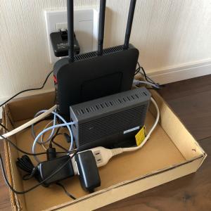 Wi-Fiルーターすっきり収納出来ました