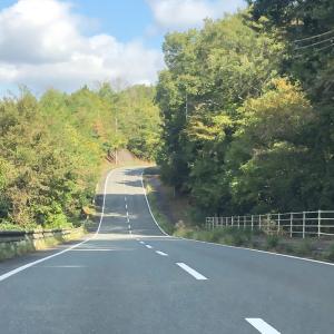 秋晴れの、ルート387
