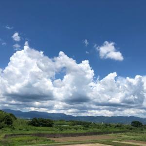 空に浮かぶ夏雲(╹◡╹)♡