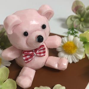 ピンクのクマさん♡