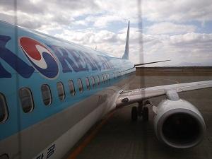 釜山に行った!大韓航空の機内食!