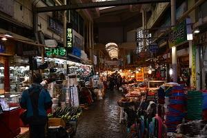 釜山で行った!釜田市場でナツメを発見!