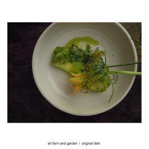 収穫野菜の続きです/[アート農場と庭]のアートフード