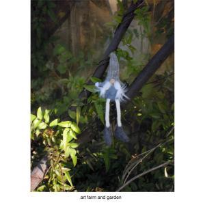 フィンランドの妖精トントゥ/art farm & gardenの庭