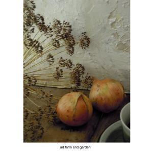 寝坊してます/art farm & garden