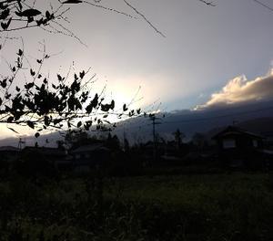 冷たい1日・・過ぎた台風