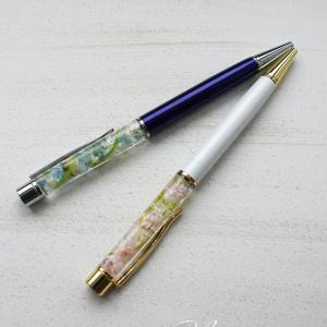 ハーバリウムボールペン*生徒さんの作品