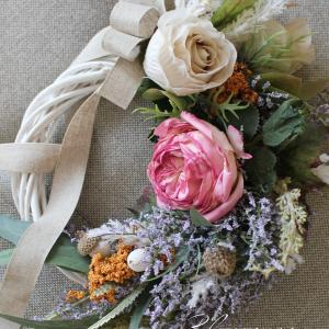 ガーデンローズのリース*花を愉しむコース