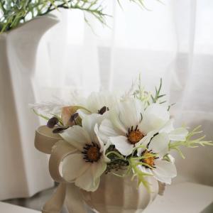 秋桜のアレンジ*花を愉しむコース
