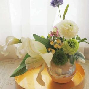 和のアレンジ*花を愉しむコース
