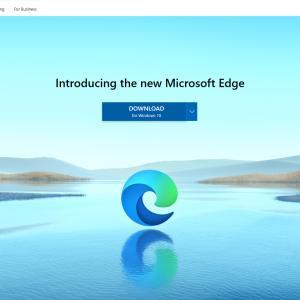 MicrosoftEdgeが新しくなったよ!