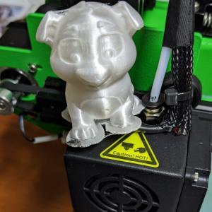 3Dプリンター買ったよ~~~!サンプル以外失敗する…