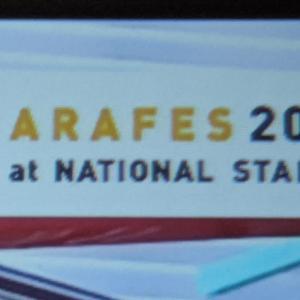 ARAFES 2020 #嵐の日 部屋を暗くしてプロジェクターで見てたら…