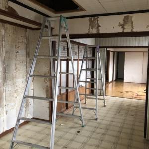 階段を作りたいから天井を落とすの巻き。