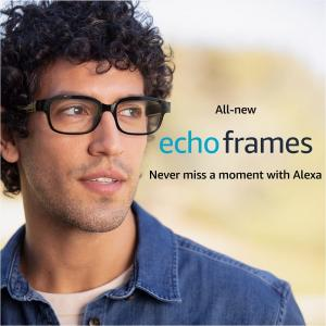 アマゾンのスマートグラス「Echo Frames」は実用化として受け入れられるのだろうか?