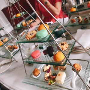 ホーチミンでは貴重な優雅なアフタヌーンティー ~ Mia Saigon Lobby Lounge