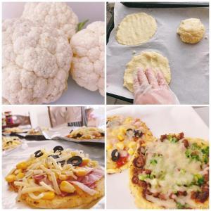 【ちぇり飯】粉を使わない?!まさかのカリフラワー生地のピザ!