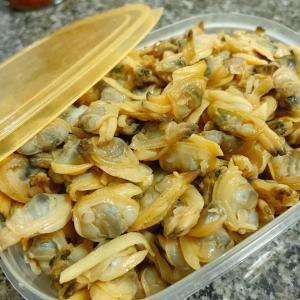 【ちぇり飯】ホーチミンで買える剥き身のアサリは美味しいぞ!