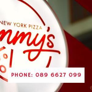 【店直デリバリー】ホーチミンでアメリカンピザ・火曜日が超お得! ~ Jimmy's New York Pizza