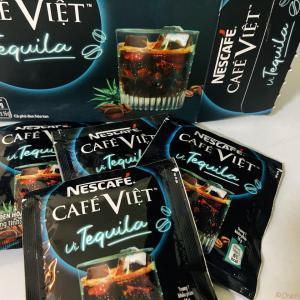 ホーチミン土産の攻めてる新顔?ちぇりの好きな酒入りコーヒーがインスタントになってたぞー! ~ NESCAFE CAFE VIET vi Tequila