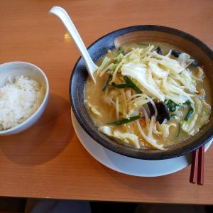 幸楽苑の味噌野菜タンメン