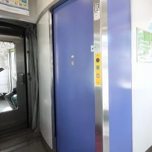 JR東日本の中距離通勤電車のトイレ