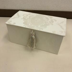 市販の箱マスクが箱ごと入るマスクケース マスクボックス《カルトナージュ》鎌取カルチャー