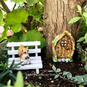 フェアリードアをプラス♡箱庭作り《ガーデニング》小さな世界