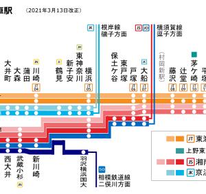 東海道線の怪…