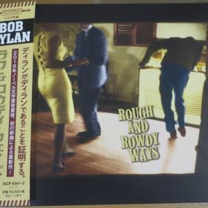 ボブディラン<ラフ&ロウディ・ウェイズ>。ロビーカードプレゼント