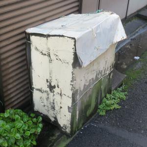昔のゴミ箱6 銀座で見たゴミ箱。清水銀座だけどね