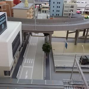 勾配高架区間の確認