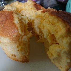 蜂蜜柚子のシフォンケーキ