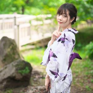 柚月彩那 さん smooth TOKYO 浴衣 個人撮影会 (2020/7/5) その3