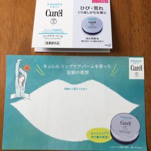 キュレル のサンプル届いた→現品プレゼントキャンペーン