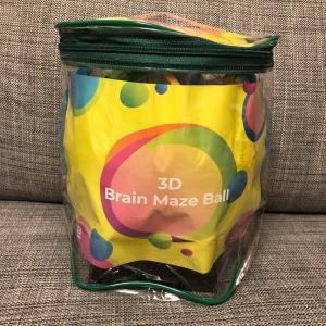 【おもちゃ】3D ブレインメイズボール