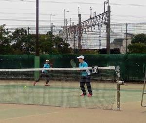 東京都私学テニス選手権大会 女子ダブルス