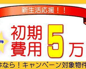 初期費用5万円ポッキリ!鹿児島市伊敷台の1LDKの賃貸アパート賃料44,000円。