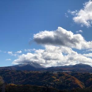 今日の赤城山と私のクレベリン