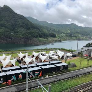 八ッ場ダム(トンネルランニング)