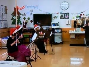 クリスマス慰問演奏会 byふみよ