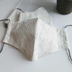 メンズ用の大き目Lサイズを遠州綿紬で作りました